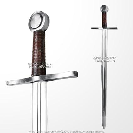 Amazon com : Handmade Peened Full Tang Norman Medieval