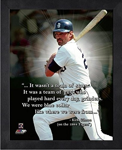 (Kirk Gibson Detroit Tigers ProQuotes Photo (Size: 12