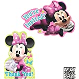 Amazoncom Minnie Mouse Invitations Cards Party Supplies