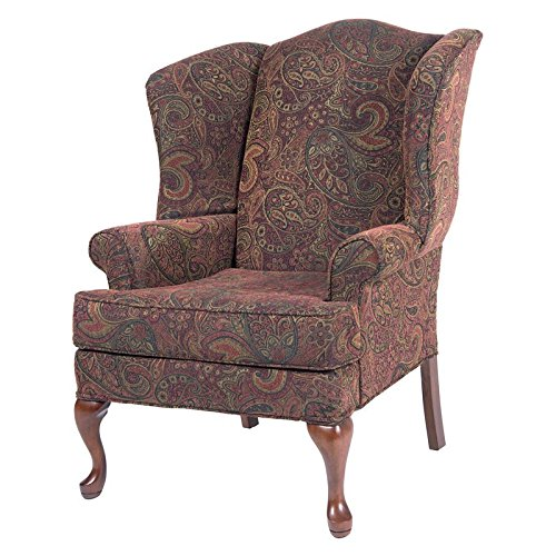 - Paisley Wing Back Chair