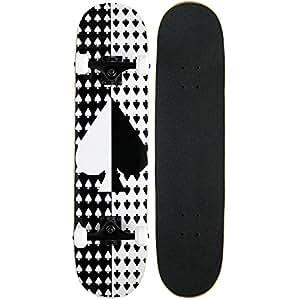 Amazon.com : KPC Pro Skateboard Complete, Ace : Standard