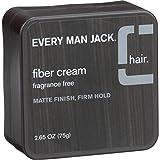 Every Man Jack Fiber Cream, Fragrance Free, 2.65 oz