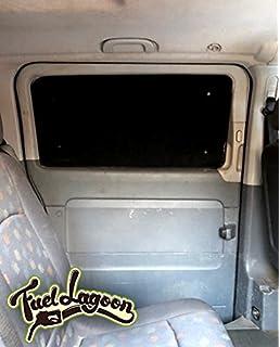 Fuel Lagoon Vito W639 639 térmica plata Protector de ventana persianas