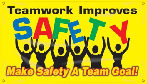Accuform Signs MBR424 Motivational Safet - Motivational Safety Banner Shopping Results