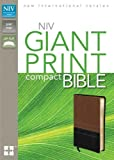 NIV Giant Print Compact Bible, Zondervan Publishing Staff, 0310435331