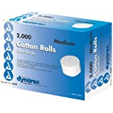 Dental Cotton Rolls N/S #2 Med - Box/2000