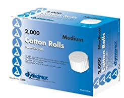 Dental Cotton Rolls N/S #2 Med - Box/200...