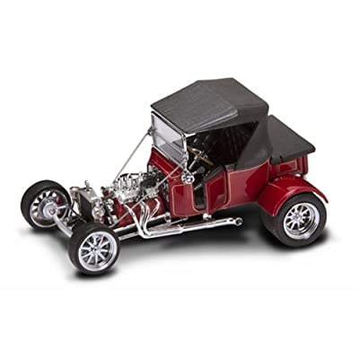 Yat Ming 1923 Ford T Bucket Soft Top Red 1:18 Diecast Model Car: Toys & Games