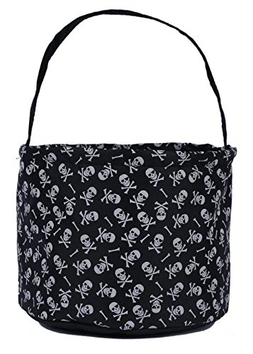 01625579b8a3 Jolly Jon Halloween Trick Treat Bags - Kids Candy Bucket Tote Bag