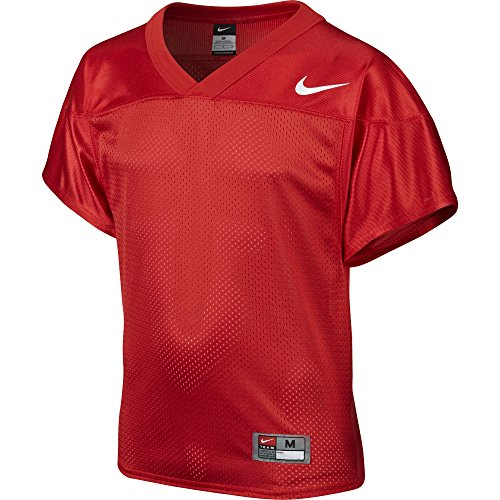 Boy's Nike Core Practice Football Jersey TM Scarlet/TM White Size Large Nike Red Football Jersey