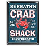 Personalized Crab Shack Pub Sign Man Cave Gift