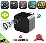 DENT 1080P USB Charger Camera WiFi – HD Live Streaming Video Camcorder with Motion Detection, Pet Nanny Security Cam, USB AC Wall Plug Adapter for Phone, Remote View, Support 128GB SD Review