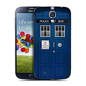 Head Case Designs Police Box Telephone Booth Replacement Battery Back Cover for Samsung Galaxy S4 I9500