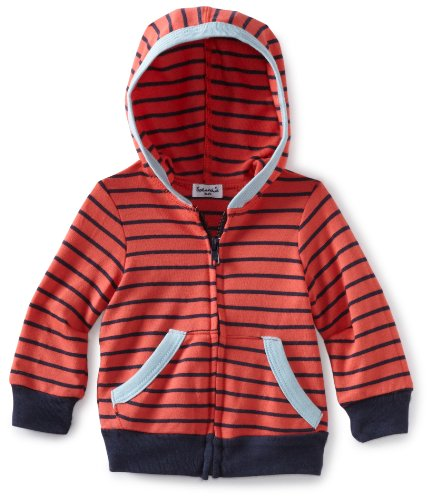 Splendid Littles Baby Boys' Mini Breton Active Zip Up Hoodie