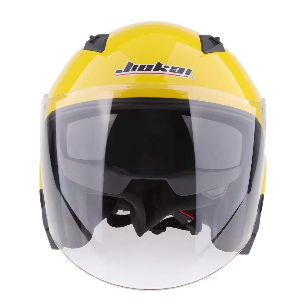 B Blesiya 1 Pedazo Casco de Cabeza Hebilla Ajustable de Carrera Moociclista Plastic/ó Rojo XXL