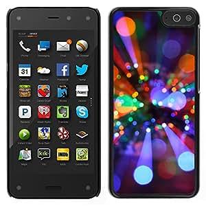 Cubierta protectora del caso de Shell Plástico || Amazon Fire Phone || rayos bola de discoteca de luz ambiente de fiesta brillante @XPTECH