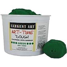 Sargent Art 85-3366 3-Pound Art-Time Dough, Green