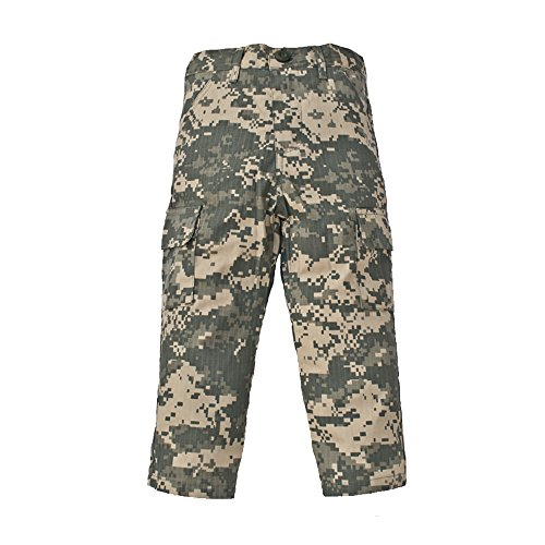 - Trendy Apparel Shop Kid's US Soldier Digital Camouflage Uniform Pants - ACU - L