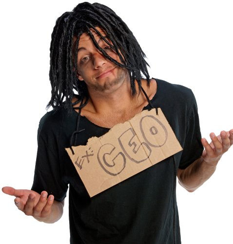 Humor Wig, Down 'N Out (Halloween Dreadlocks)