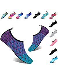 Water Shoes Women's Men's Outdoor Beach Swimming Aqua Socks Quick-Dry Barefoot Shoes Surfing Yoga Pool Exercise