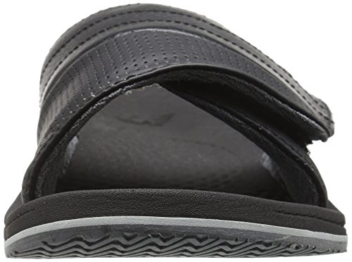 New Balance Mens Recharge Slide Sandal Black/Grey