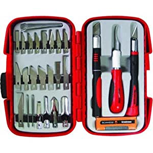 IDL TOOL INTERNATIONAL - 29-Pc. Hobby Knife/Blade Set