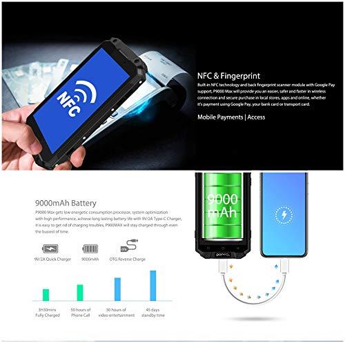 SHOPUS | Unlocked IP68 Waterproof Mobile Phone,POPTEL P9000