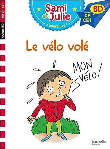 Amazon Fr Sami Et Julie Bd Le Velo Vole Therese Bonte