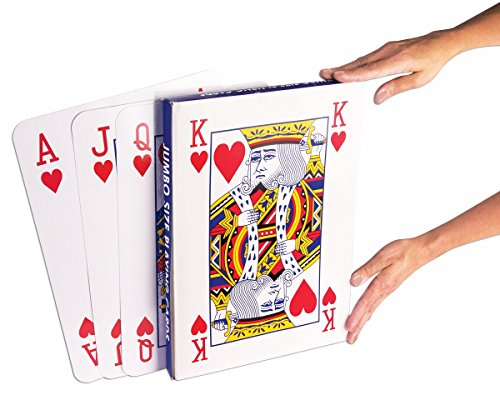 Big Heart Clown Costumes (Super Jumbo Face Extra Large Playing Cards- 10