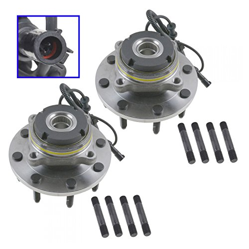 Front Wheel Hub & Bearing Pair for Super Duty Pickup Truck 4x4 4WD (Duty Pickup Wheel)
