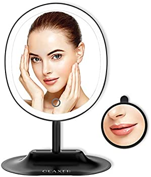 OLAXER USB Rechargeable Oval Vanity Mirror