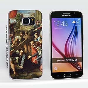 Funda Carcasa dura para Samsung Galaxy S6 - Raffaello Sanzio - El Camino al Calvario