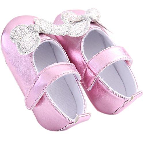 Etrack-Online , Baby Jungen Lauflernschuhe pink rose 12 - 18 Monate rose