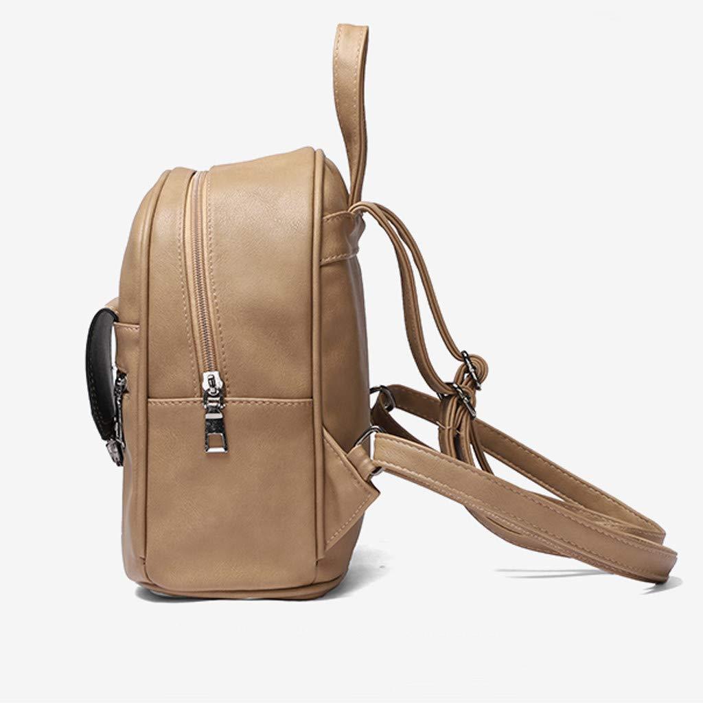 Laptop Backpack Fashion Rucksack Student Backpacks Canvas Bookbag Cute Printed Daypacks Leisure nikunLONG