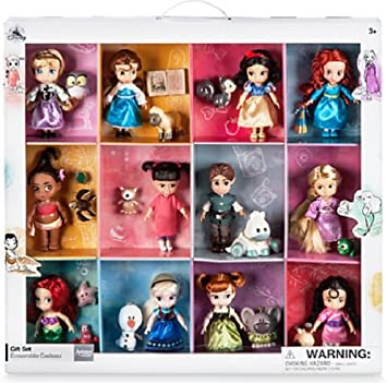 Amazon.es: Disney Animators Collection - Muñecas de Princesa (12 ...