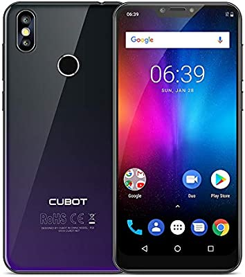 Cubot P20 Smartphone 4 G, 6.18 pollii Android 8.0 teléfonos ...
