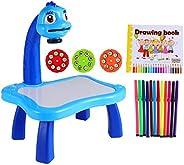 FAVOMOTO Conjunto de Prancheta para Crianças de Plástico para Crianças Pintura de Mesa Prancheta Com Projetor
