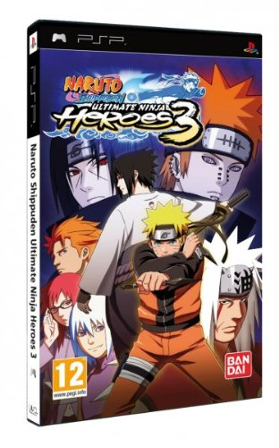 Naruto Shippuden Ultimate Ninja Heroes 3: Amazon.es: Videojuegos