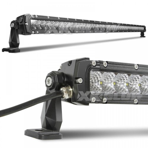 50 inch 250W LED Light Bar - Spot Flood Combo 21,400 Lumens