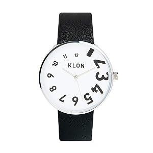腕時計 メンズ ブラック 人気 ブランド 防水 レザー おしゃれ レディース ユニセックス ペアウォッチ ペア 黒 KLON EDDY TIME 40mm (ブラック(prime))