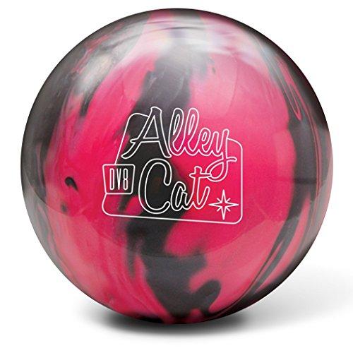 DV8 Alley Cat Bowling Ball- Pink/Black, 10lbs (Best Dv8 Bowling Ball)