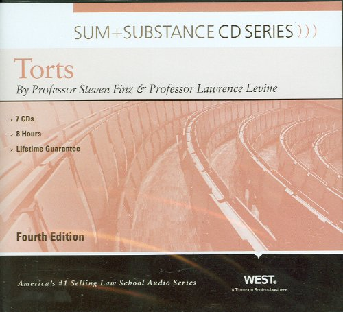 Sum and Substance Audio on Torts