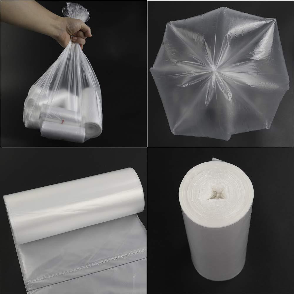 Amazon.com: Vababa - Bolsas de basura de 1,2 litros, bolsa ...