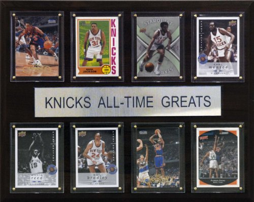 NBA New York Knicks All-Time Greats Plaque by C&I Collectables
