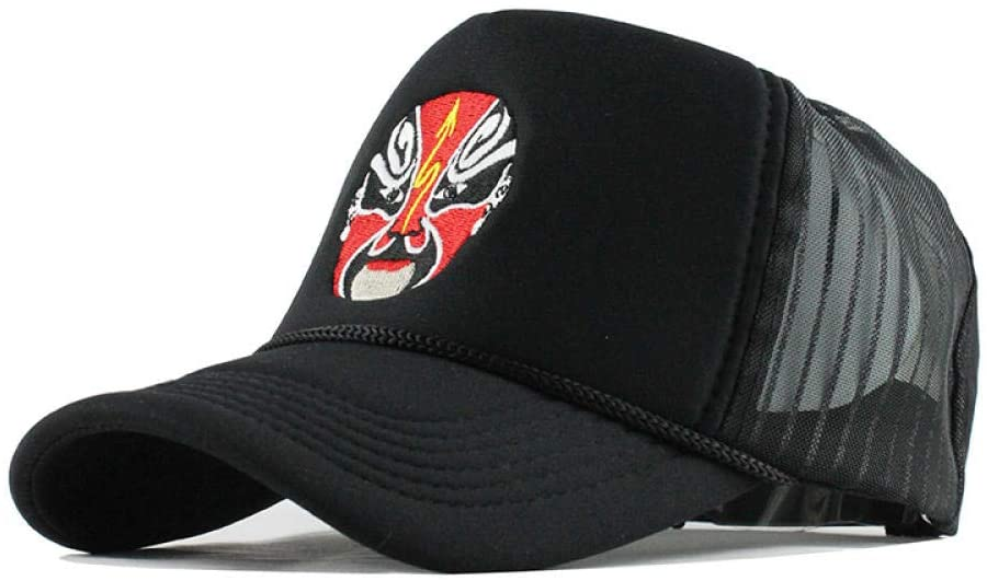 Summer Baseball Cap Embroidery Mesh Cap Hats for Men WoMensnapback Gorras Hombre Hats Casual Hip Hop Dad Caps F152,F152,Black,Children
