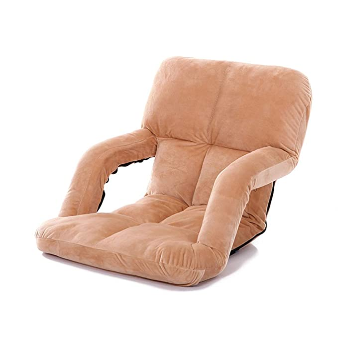 Amazon.com: TongN Lazy Couch Thick Backrest Tatami Bean Bag ...