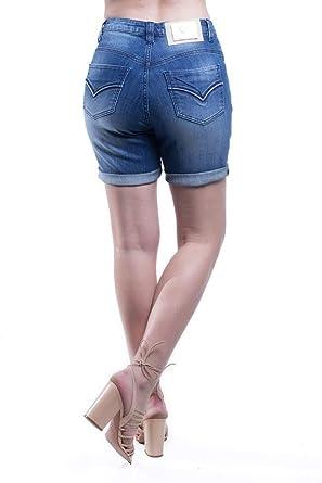 c8d058c59 Shorts Jeans Jeans Osmoze Mid Rise Middle Azul 36  Amazon.com.br ...