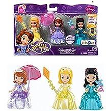 Disney Sofia the First Princess Sofia & Friends Figures Set Amber & Hildegard