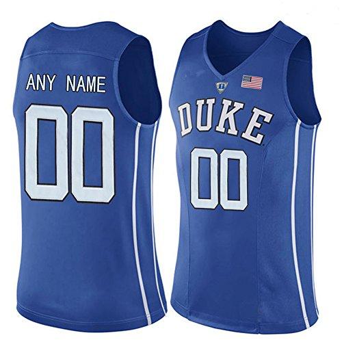 Customs Men Customized College Basketball Jersey Blue