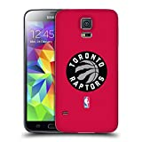 Official NBA Plain Toronto Raptors Replacement Battery Cover for Samsung Galaxy S5 / S5 Neo